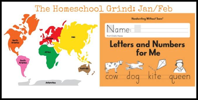 the homeschool grind jan feb